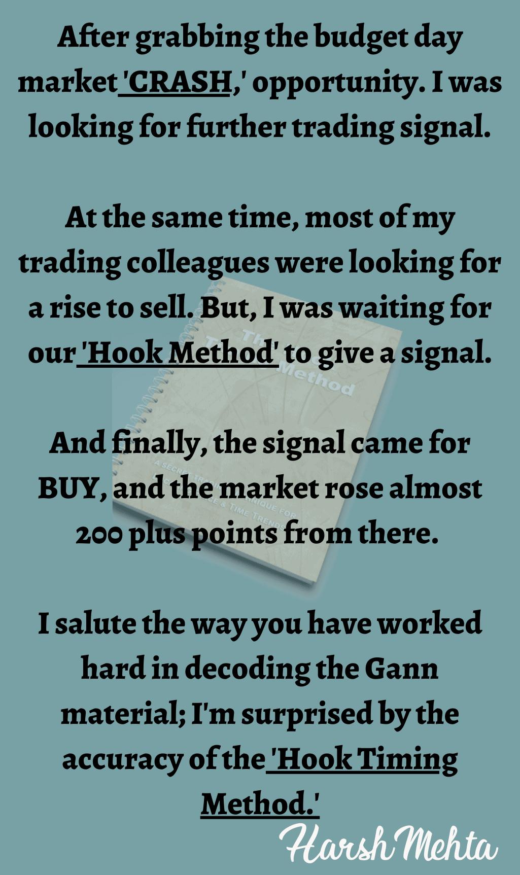 Hook Timing Method Testimonial